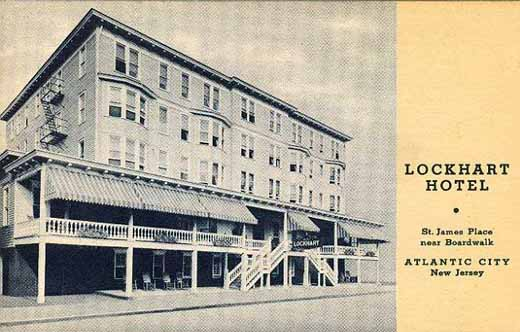 Hotel Lockhart Found at http://www.westjerseyhistory.org/images/pcards/atlantic/index26.shtml