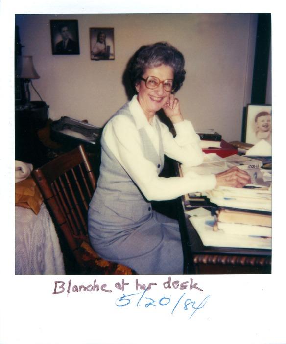 Blanche Stein Lippincott, 1984