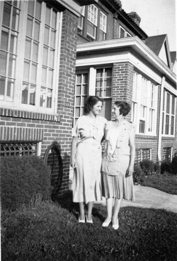 Blanche Stein and Hettie Schoenthal Stein, 1930, Mayfair, PA courtesy of the family