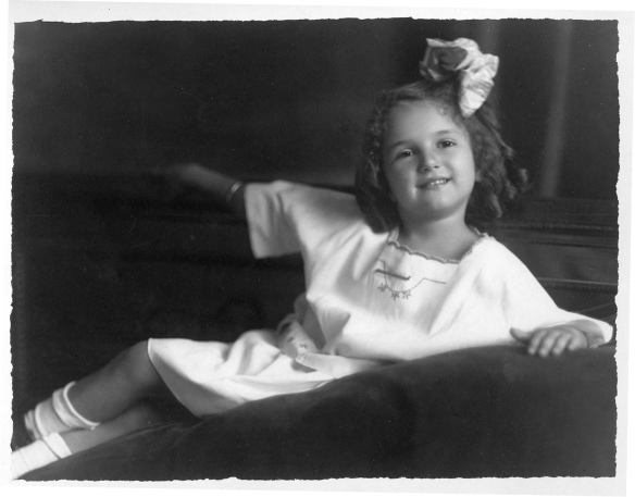 Blanche Stein, c. 1920, when she was seven courtesy of the family