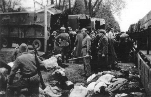 Chelmno death camp 1942 By SS Unknown [Public domain], via Wikimedia Commons
