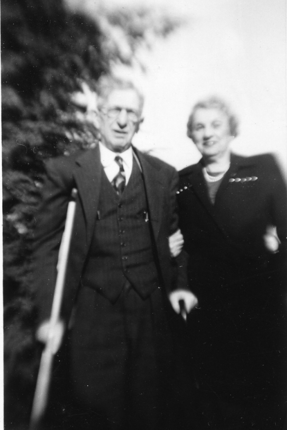 Henry and Hettie (Schoenthal) Stein, 1951 courtesy of the family