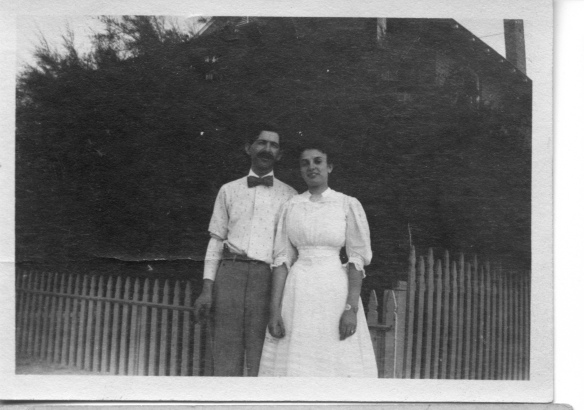 Henry Stein and Hettie Schoenthal 1907 courtesy of their family