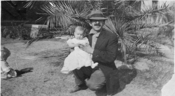 Henry Stein with his son Walter, 1910 courtesy of the family