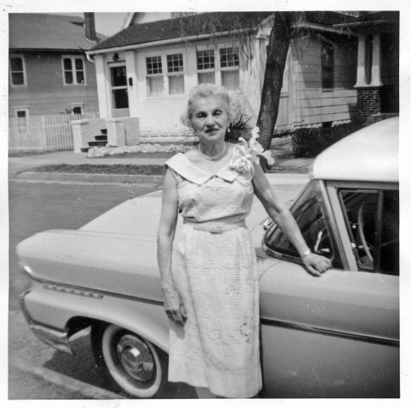 Hettie Stein, 75th birthday April 24, 1961 courtesy of the family