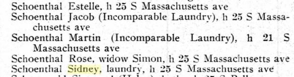Incomparable Laundry Schoenthals brothers 1911 Atlantic City directory Ancestry.com. U.S. City Directories, 1822-1995 [database on-line]. Provo, UT, USA: Ancestry.com Operations, Inc., 2011. Original data: Original sources vary according to directory.