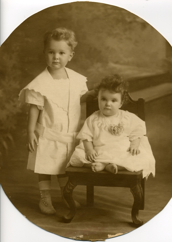 Walter and Blanche Stein, 1913 courtesy of their family