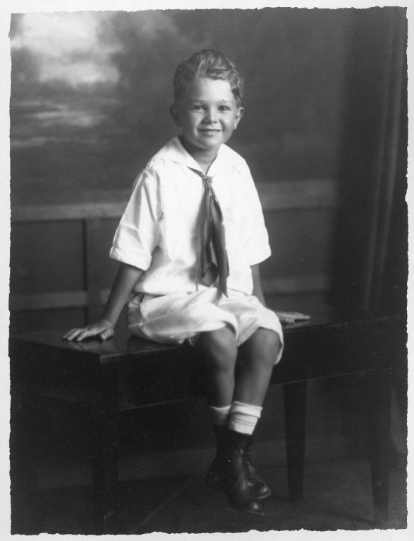 Walter Stein, c. 1919 when he was nine years old courtesy of the family