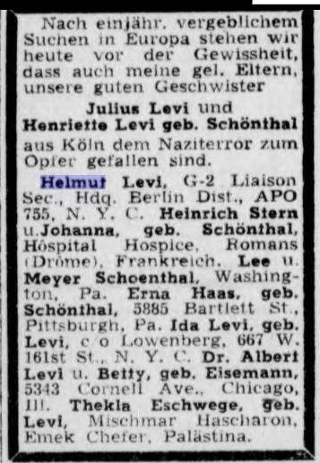 Aufbau June 14, 1946