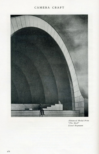 """The Shell"", photograph by Lionel Heymann, April 1932 Camera Craft Magazine, accessed at http://s3.amazonaws.com/everystockphoto/fspid30/72/22/91/5/vintage-photograph-cameracraft-7222915-o.jpg"