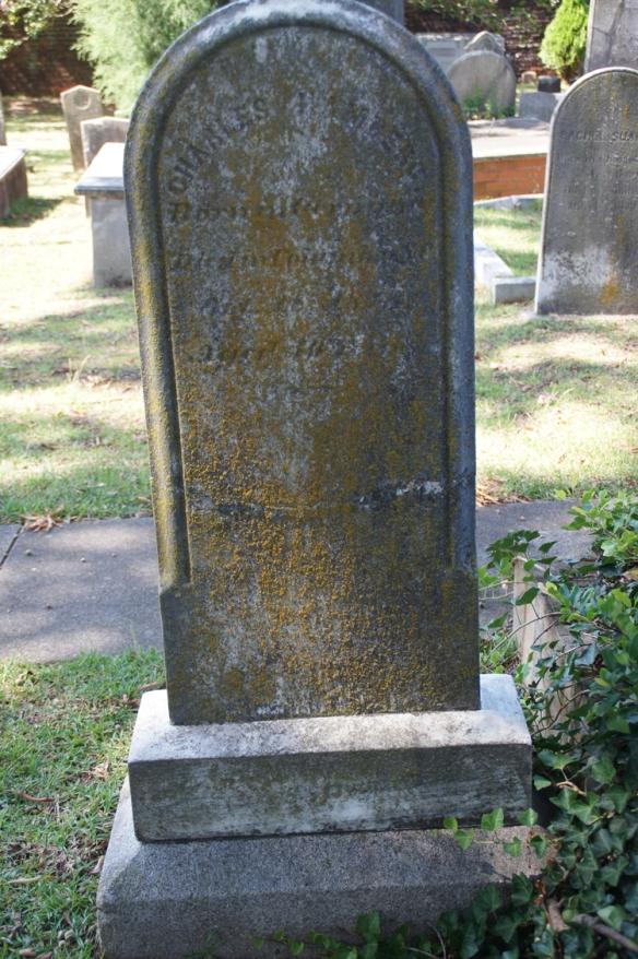 Charles Hamberg headstone