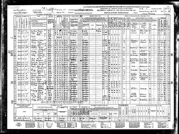 Frank and Dorothy Whitman 1940 census Year: 1940; Census Place: Philadelphia, Philadelphia, Pennsylvania; Roll: T627_3704; Page: 14A; Enumeration District: 51-553