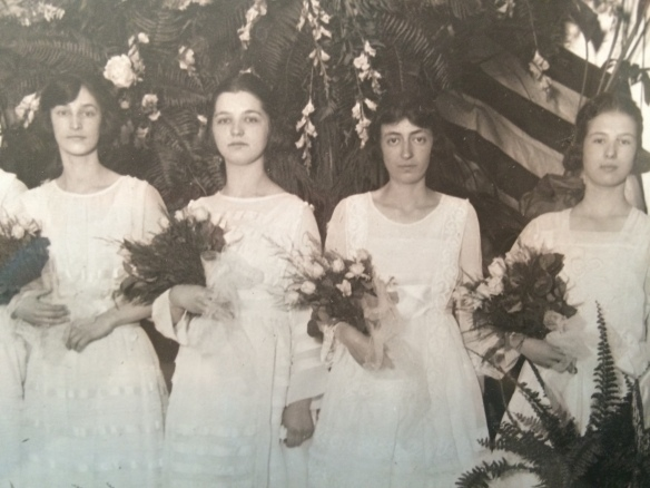My grandmother Eva Schoenthal, second from left