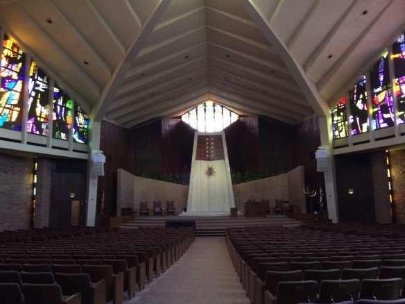 Percival Goodman sanctuary, Temple Emanuel, Denver, Colorado