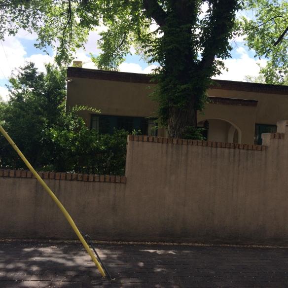 Arthur Seligman's home in Santa Fe