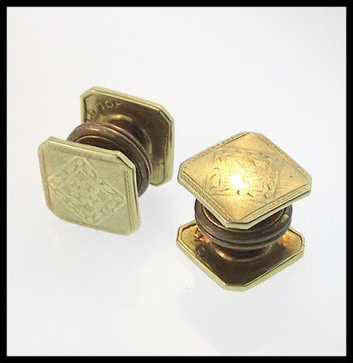 Kum-A-Part cufflinks