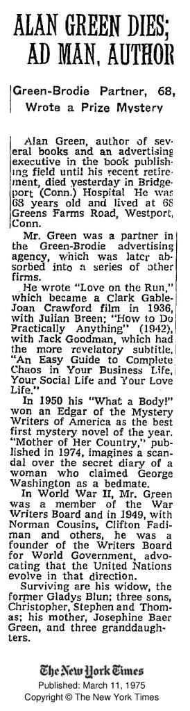 Alan Baer Green obit NYTimes March 11 1975-page-001