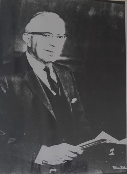 Julius Adler, 1977 Courtesy of the Adler family