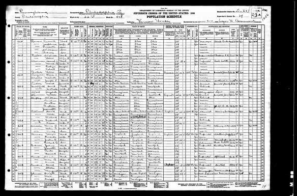 Meyer and Amanda Herman and sons 1930 census Year: 1930; Census Place: Philadelphia, Philadelphia, Pennsylvania; Roll: 2104; Page: 23A; Enumeration District: 0627; Image: 902.0; FHL microfilm: 2341838