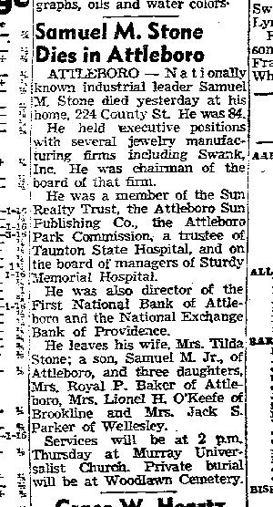 Samuel Stone Sr obit February 5, 1957 Boston Traveler p 58-page-001