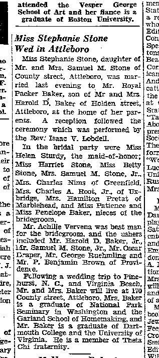 Boston Herald, November 15, 1936. p. 61