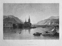 Bingen, c. 1830s https://commons.wikimedia.org/wiki/File%3AClarkson_Stanfield_Bingen.jpg