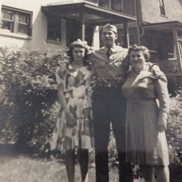 Elaine, Gerald, and Esther Oestreicher