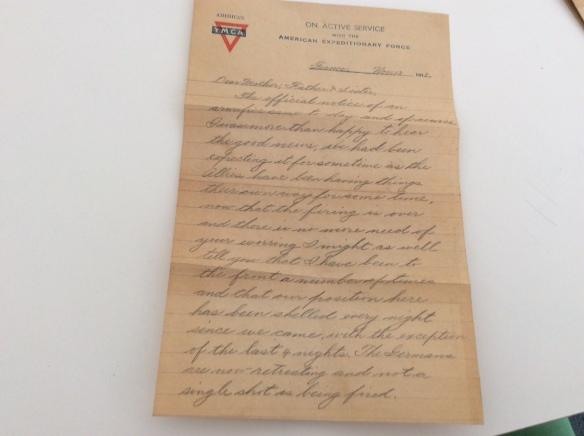 Frank November 13 letter 1