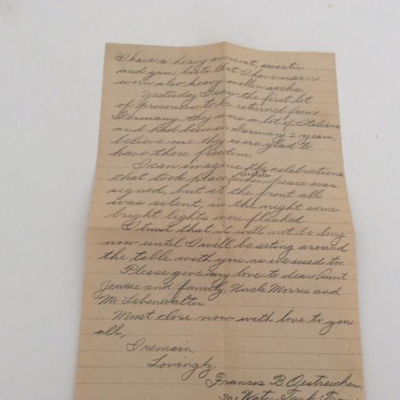 Frank November 18 letter 2