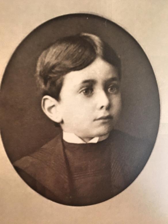 Frank Oestreicher as a boy