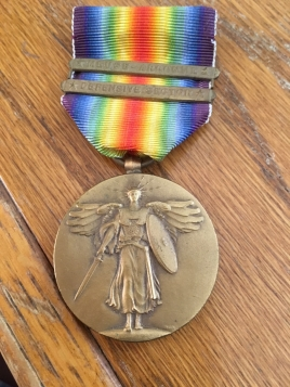 Frank Striker WW1 medal
