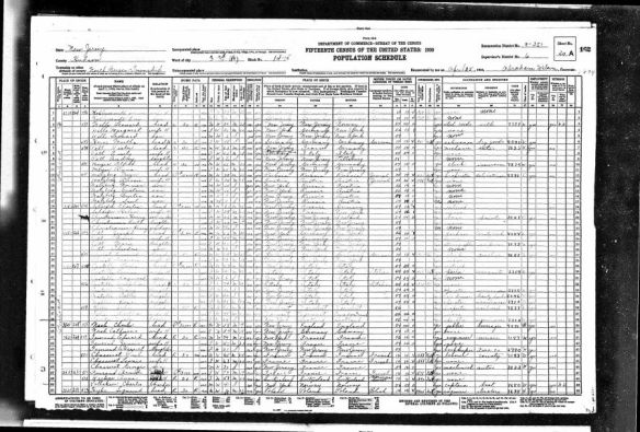 Bessie Goldfarb and Meyer Malzberg 1930 US census