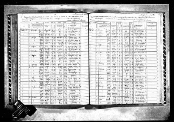 Gussie Goldfarb and Max Katz 1915 NY census New York State Archives; Albany, New York; State Population Census Schedules, 1915; Election District: 51; Assembly District: 22; City: New York; County: Kings; Page: 148