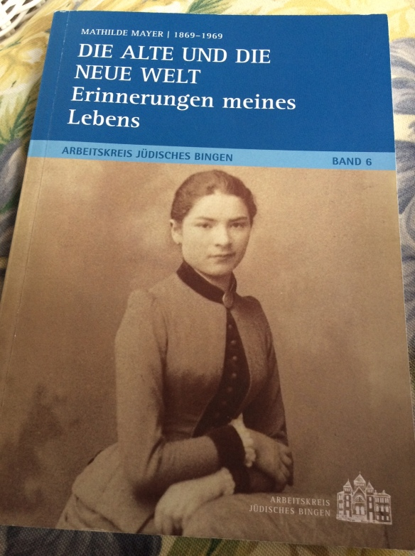 Mathilde Mayer book cover
