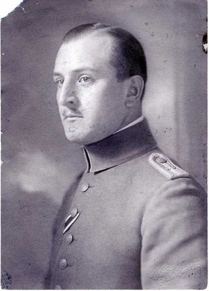 Max Wronker during World War I, courtesy of the Wronker family