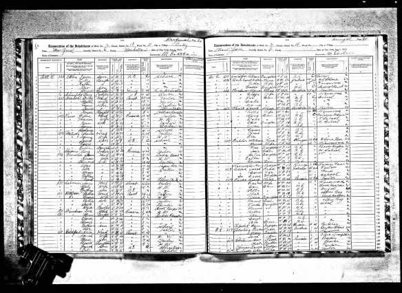 Sam Goldfarb and family 1915 NY census New York State Archives; Albany, New York; State Population Census Schedules, 1915; Election District: 18; Assembly District: 06; City: New York; County: New York; Page: 84
