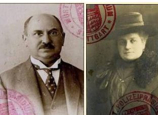 Wilhelm and Anna (Gross) Lichter, 1927 passport photos http://www.stolpersteine-stuttgart.de/index.php?docid=749