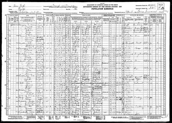 Harry Hecht and family 1930 US census Year: 1930; Census Place: Brooklyn, Kings, New York; Roll: 1522; Page: 15A; Enumeration District: 1357; Image: 271.0; FHL microfilm: 2341257