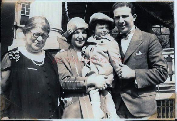HIlda (Katzenstein) Schoenthal, Eva (Schoenthal) Cohen, Eva HIlda Cohen, and Harold Schoenthal