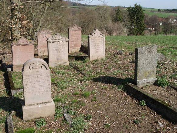 Jewish cemetery in Jesberg http://www.alemannia-judaica.de/jesberg_friedhof.htm
