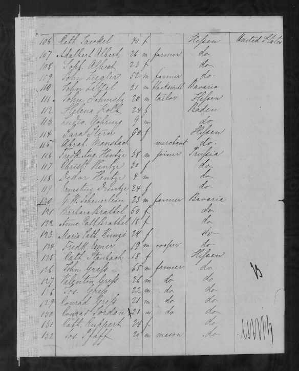 abraham-mansbach-1852-passenger-list