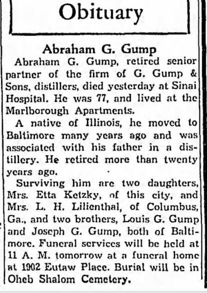 Baltimore Sun, May 9, 1940, p. 6