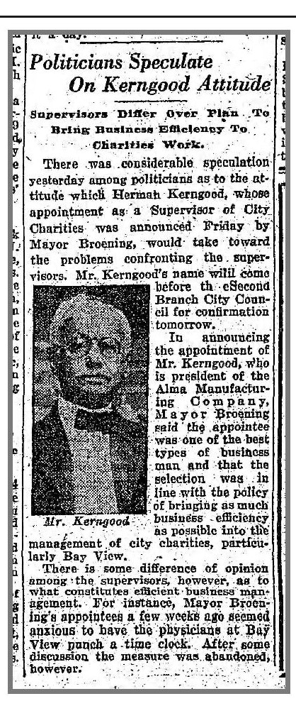 Baltimore Sun, June 18, 1921, p.17