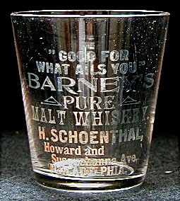 Harry Schoenthal shot glass http://www.pre-pro.com/midacore/view_glass.php?sid=RRP684