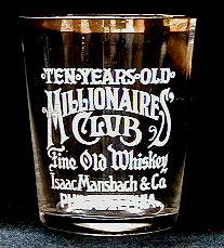 Isaac Mansbach shot glass