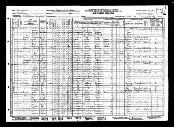 Alfred and Dorothy (Steele) Schlesinger 1930 US census Year: 1930; Census Place: Cheltenham, Montgomery, Pennsylvania; Roll: 2081; Page: 17A; Enumeration District: 0024; Image: 285.0; FHL microfilm: 2341815