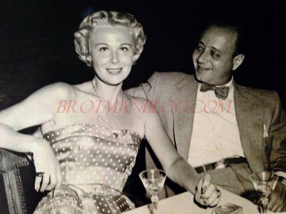 Jane Schlesinger and her husband Marvin Bruner