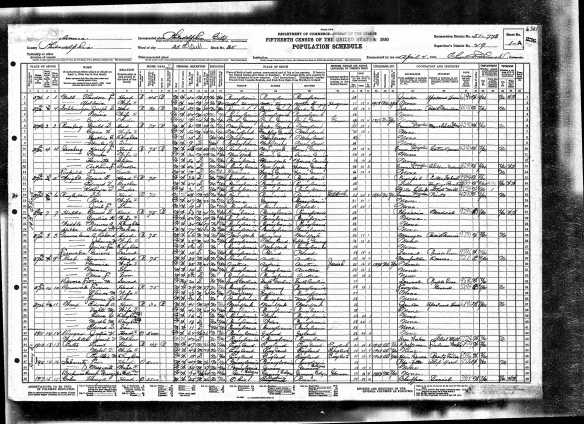 S. Joseph Schlesinger and family 1930 US census, lines 3-5 Year: 1930; Census Place: Philadelphia, Philadelphia, Pennsylvania; Roll: 2125; Page: 1A; Enumeration District: 0778; Image: 1013.0; FHL microfilm: 2341859