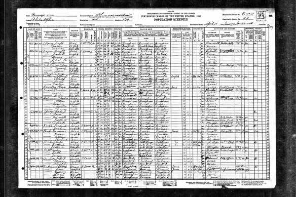 Sidney Schlesinger and family 1930 US census Year: 1930; Census Place: Philadelphia, Philadelphia, Pennsylvania; Roll: 2136; Page: 18A; Enumeration District: 1077; Image: 188.0; FHL microfilm: 2341870, lines 59-62