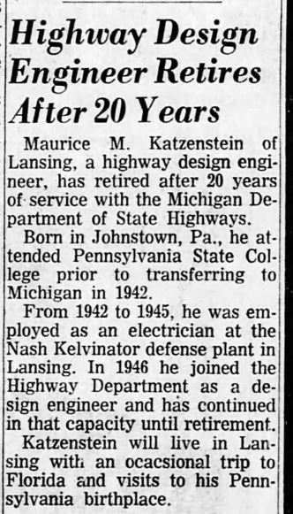Lansing State Journal, March 3, 1966, p. 11